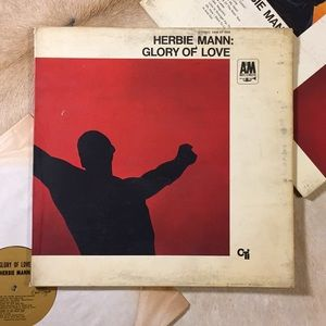 "Herbie Mann - ""Glory Of Love"". Only LP"